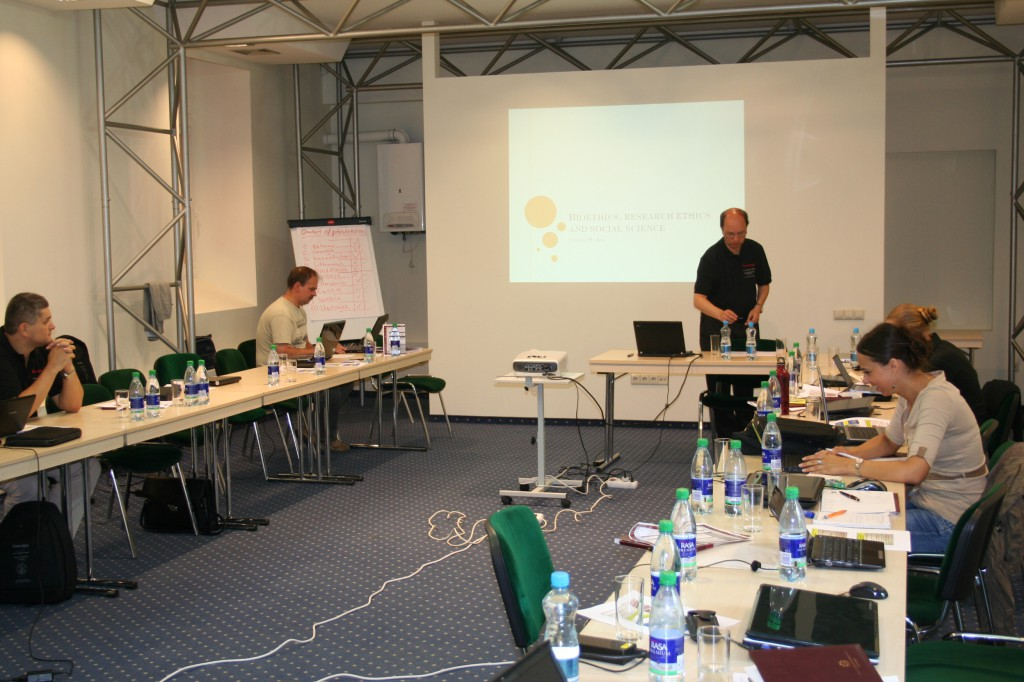 Proseminar: 7-14th of August, 2011, Vilnius