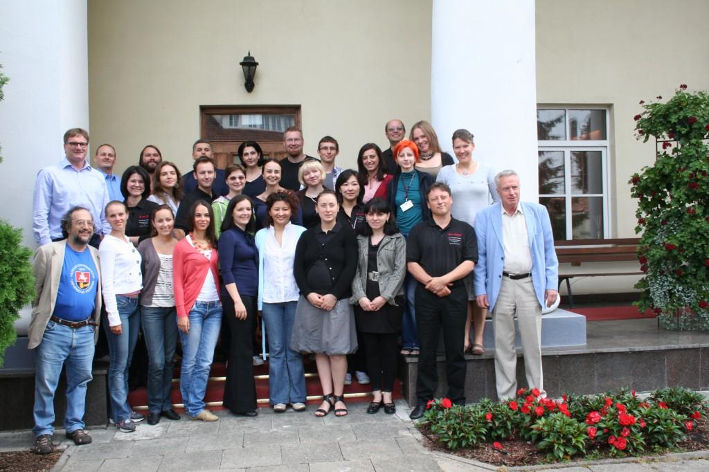 Proseminar: 7-14th of August, 2011, Vilnius